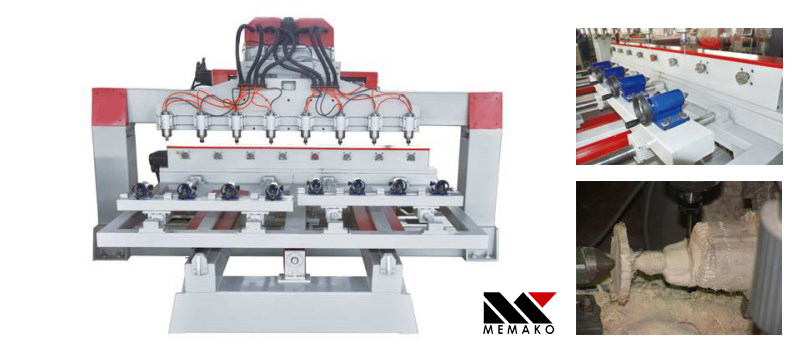 Jual beli Four-Axis CNC Router surabaya