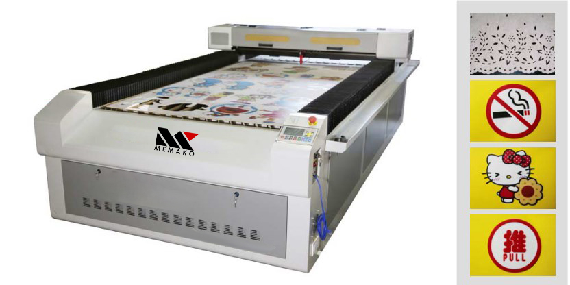 Jual mesin Laser Engraving dan Cutting murah di indonesia MK1325 with CCD System