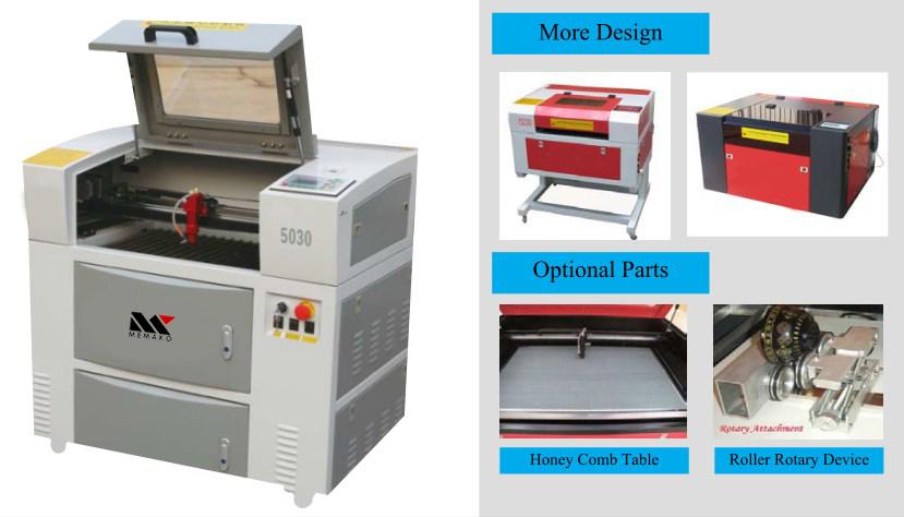 Jual mesin cutting dan engraving laser M series versi mini