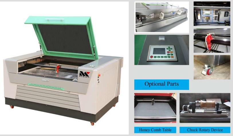 Mesin laser cutting dan ukir Model Baru MK1390A